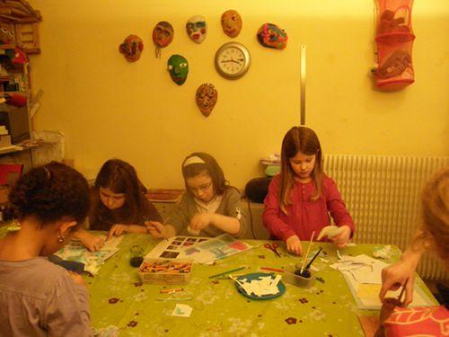 Chloé,Laurène,Aglaé & Elena